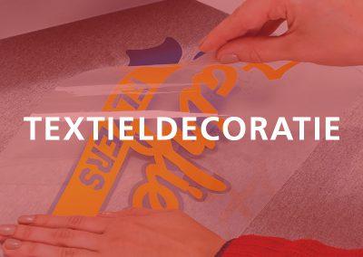 Textieldecoratie